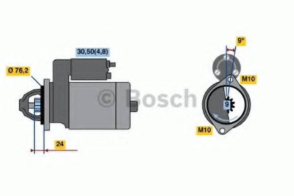 0001108208 Bosch Стартер