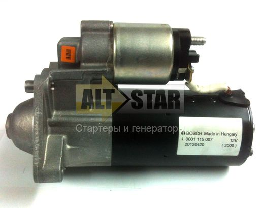 0001110100 RG Remanufactured Стартер