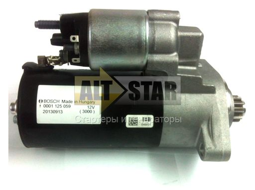 0001124001 RG Remanufactured Стартер