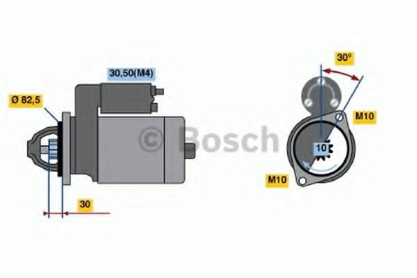 0001219009 Bosch Стартер