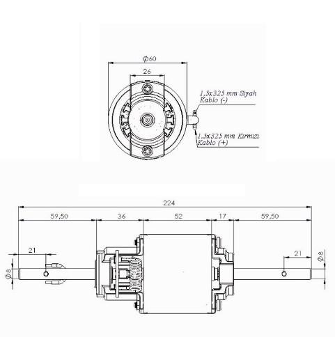 0130063029 Bosch Двигатель вентилятора