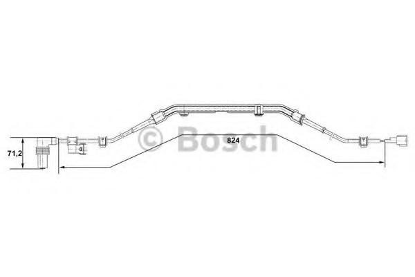 0265001276 Bosch Датчик ABS