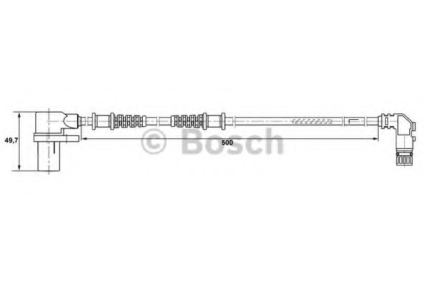 0265006266 Bosch Датчик ABS