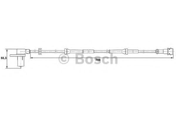 0265006328 Bosch Датчик ABS