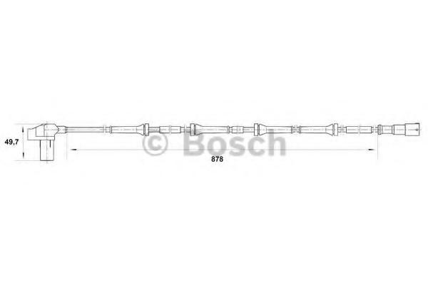 0265006711 Bosch Датчик ABS