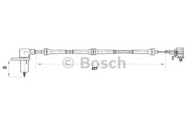 0265006755 Bosch Датчик ABS