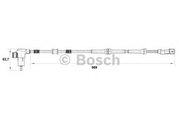 0265006793 Bosch Датчик ABS