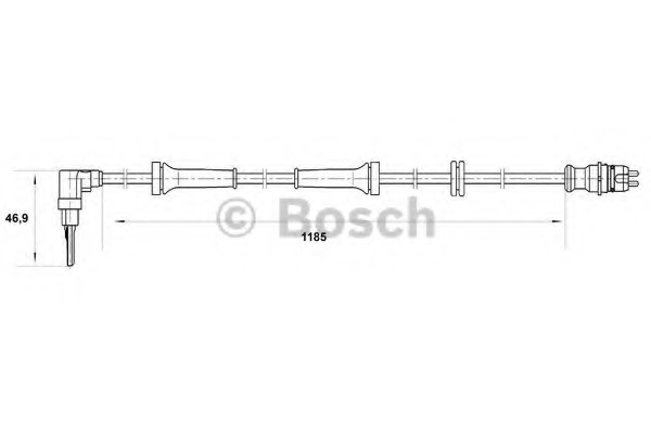 0265007038 Bosch Датчик ABS