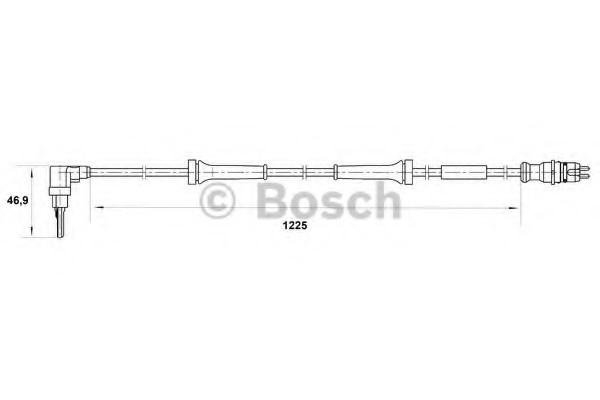 0265007039 Bosch Датчик ABS