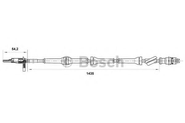 0265007072 Bosch Датчик ABS