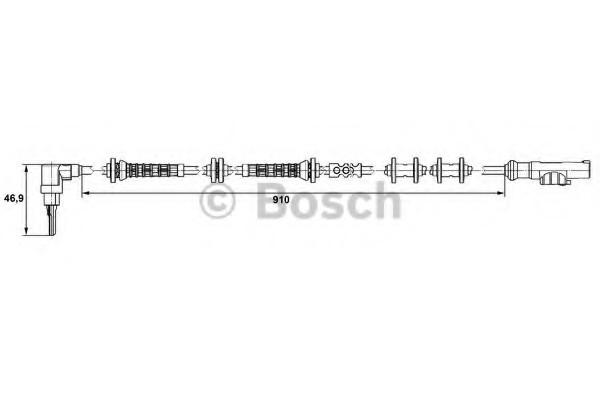 0265007448 Bosch Датчик ABS
