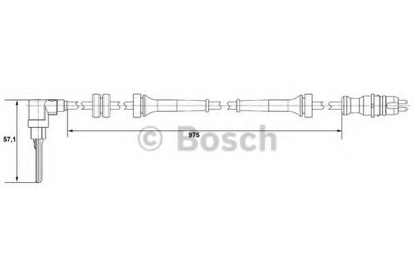 0265007510 Bosch Датчик ABS
