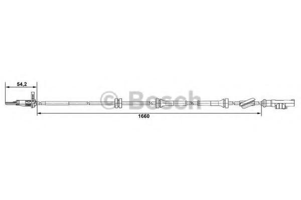 0265007519 Bosch Датчик ABS