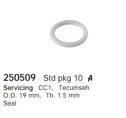 250509 Cargo Кольцо уплотнительное кондиционера