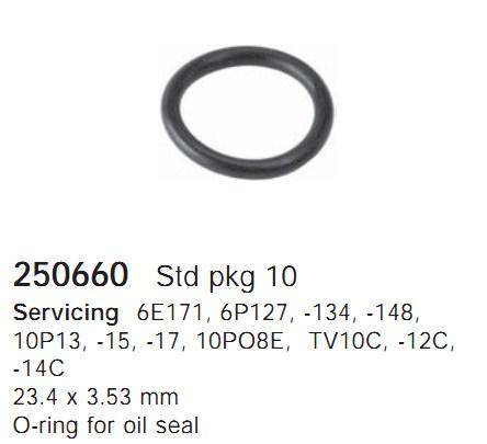 250660 Cargo Кольцо уплотнительное кондиционера