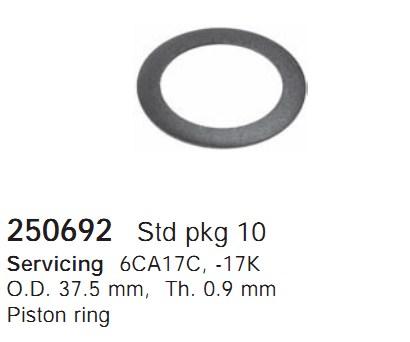 250692 Cargo Кольцо поршня кондиционера
