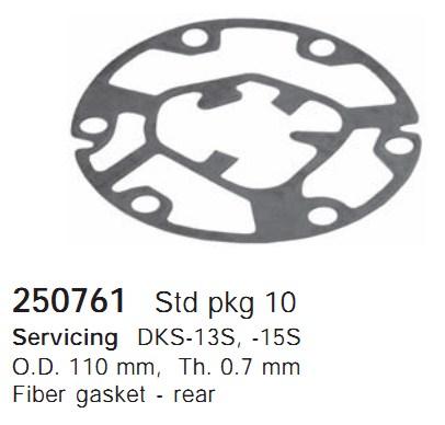 250761 Cargo Прокладка кондиционера