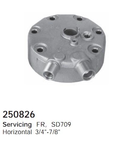 250826 Cargo Крышка задняя кондиционера