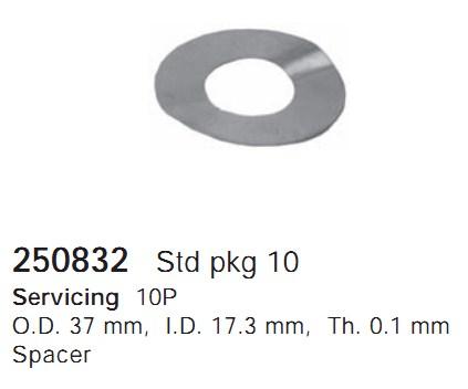 250832 Cargo Шайба компрессора