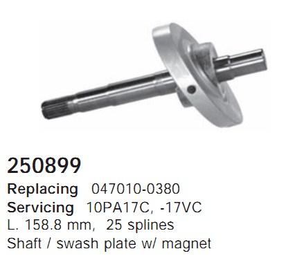 250899 Cargo Вал компрессора
