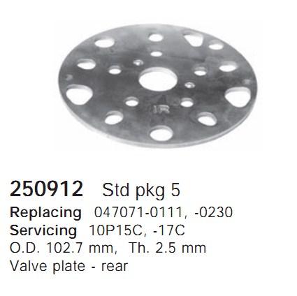 250912 Cargo Клапан-пластина кондиционера