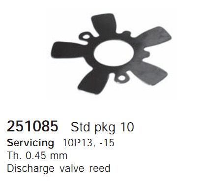251085 Cargo Клапан-пластина кондиционера