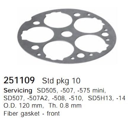 251109 Cargo Прокладка кондиционера