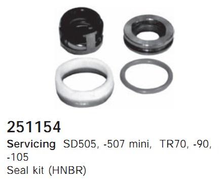 251154 Cargo Сальник компрессора комплект