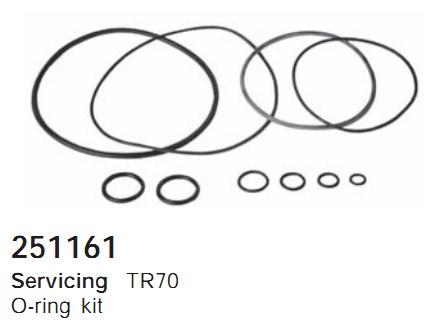 251161 Cargo Кольцо уплотнительное кондиционера комплект