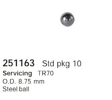 251163 Cargo Сферы полусферы кондиционера
