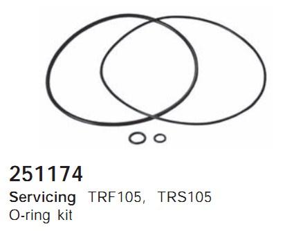 251174 Cargo Кольцо уплотнительное кондиционера комплект