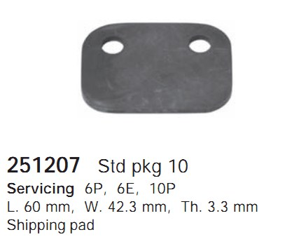 251207 Cargo Компонент для транспортировки кондиционера