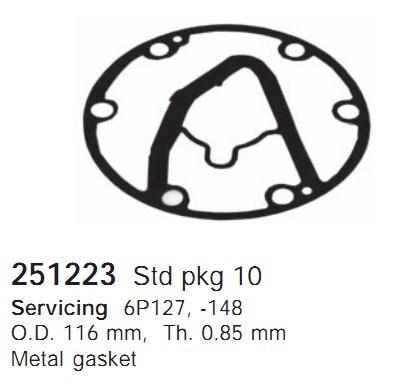 251223 Cargo Прокладка кондиционера