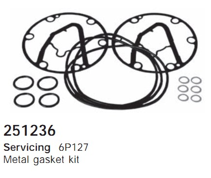 251236 Cargo Прокладка к-кт кондиционера