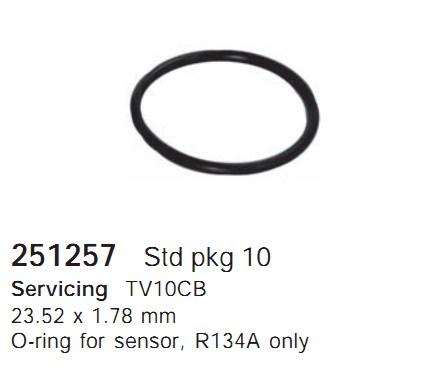 251257 Cargo Кольцо уплотнительное кондиционера