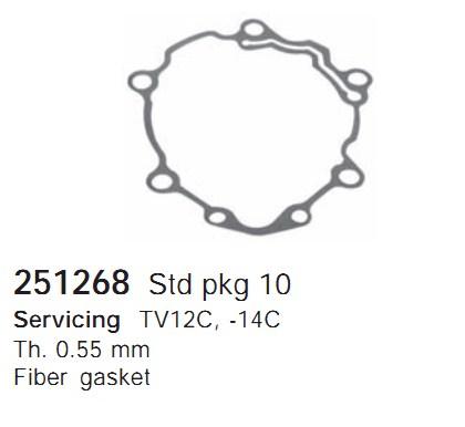 251268 Cargo Прокладка кондиционера