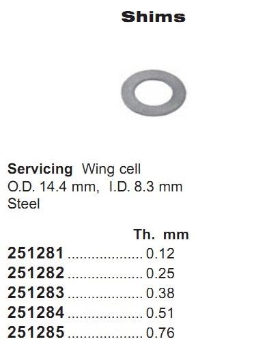 251285 Cargo Шайба компрессора