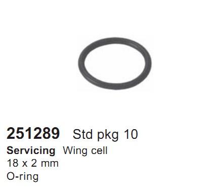 251289 Cargo Кольцо уплотнительное кондиционера