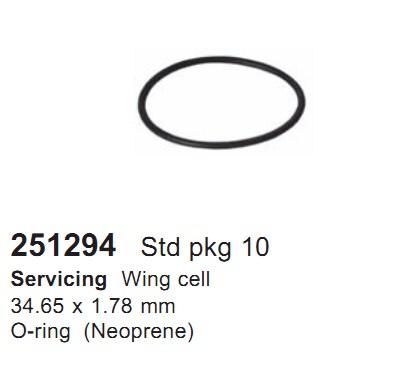 251294 Cargo Кольцо уплотнительное кондиционера