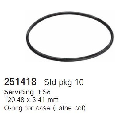 251418 Cargo Кольцо уплотнительное кондиционера