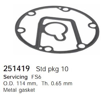 251419 Cargo Прокладка кондиционера
