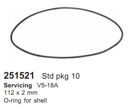 251521 Cargo Кольцо уплотнительное кондиционера