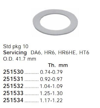 251531 Cargo Кольцо поршня кондиционера