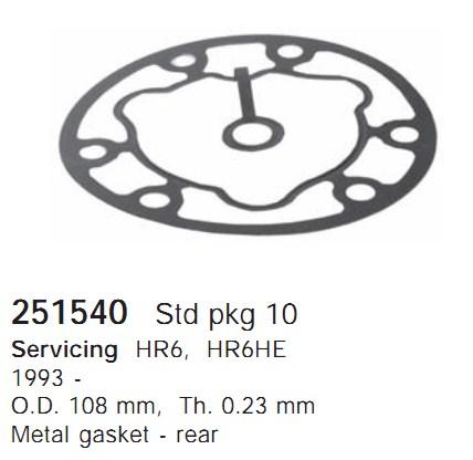 251540 Cargo Прокладка кондиционера