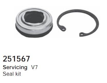251567 Cargo Сальник компрессора комплект