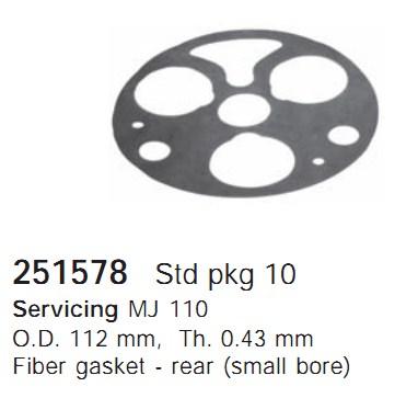 251578 Cargo Прокладка кондиционера