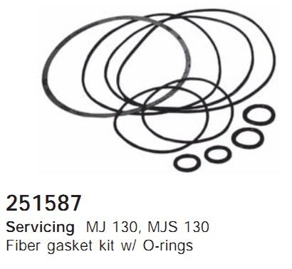 251587 Cargo Кольцо уплотнительное кондиционера комплект