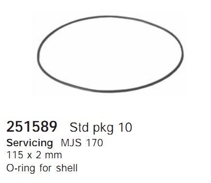 251589 Cargo Кольцо уплотнительное кондиционера