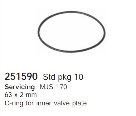 251590 Cargo Кольцо уплотнительное кондиционера