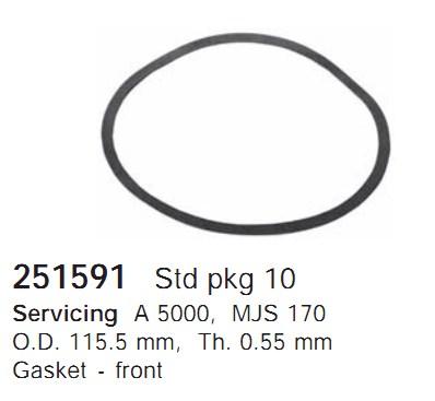 251591 Cargo Прокладка кондиционера